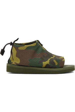 Suicoke Men Sandals - Green Camo EVO-ab Sandals