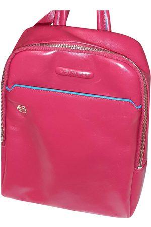 Piquadro Leather Backpacks