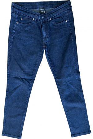 Alexander McQueen Cotton Jeans