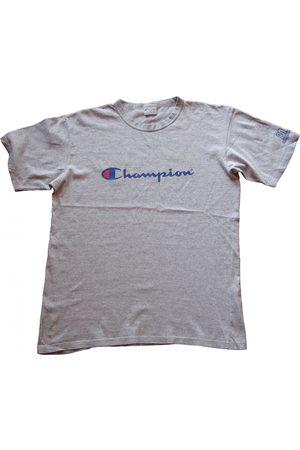 Champion Grey Cotton T-shirt
