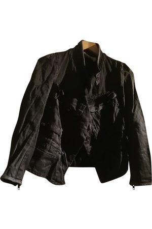 Isabel Marant Khaki Cotton Leather Jackets