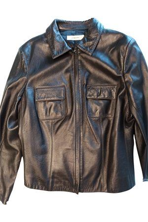 GENTRYPORTOFINO Leather biker jacket