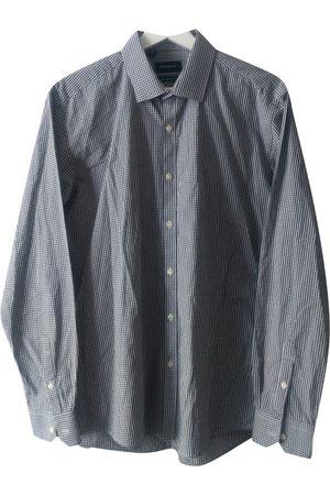Rochas Grey Cotton Shirts