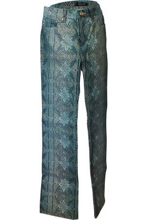 Roberto Cavalli Multicolour Cotton Jeans