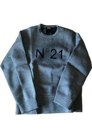 No. 21 Grey Synthetic Knitwear & Sweatshirts