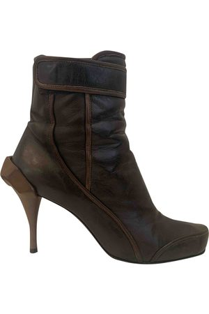 Céline Women Ankle Boots - Leather Ankle Boots