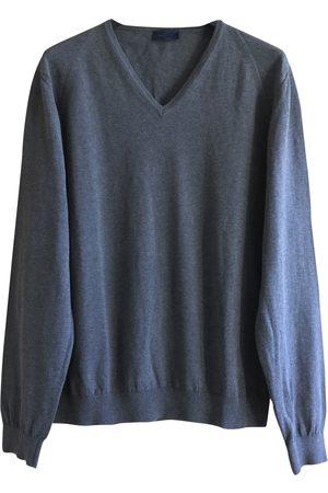 Lanvin Grey Cotton Knitwear & Sweatshirts