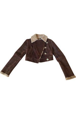 Alexander McQueen Suede Leather Jackets