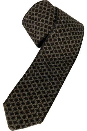 Ermenegildo Zegna Men Neckties - Grey Wool Ties