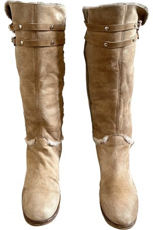 Jimmy Choo Women Snow Boots - Leather snow boots