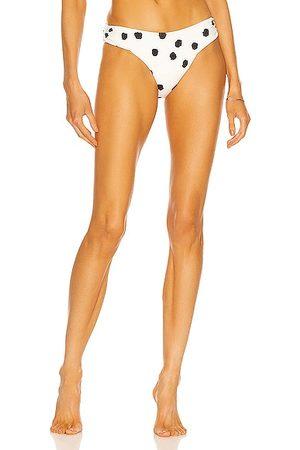 JONATHAN SIMKHAI Jules Side Ruched Bikini Bottom in
