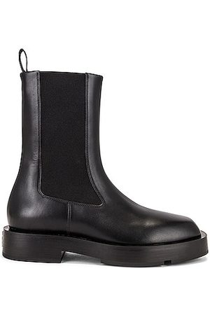 Givenchy Squared Chelsea Ankle Boots in