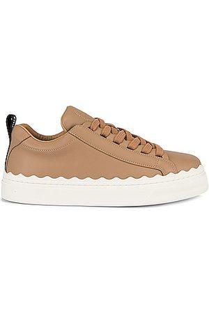 Chloé Lauren Sneakers in Beige