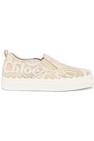 Chloé Lauren Lace Sneakers in