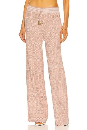 AJE Jessa Knit Pant in Pink