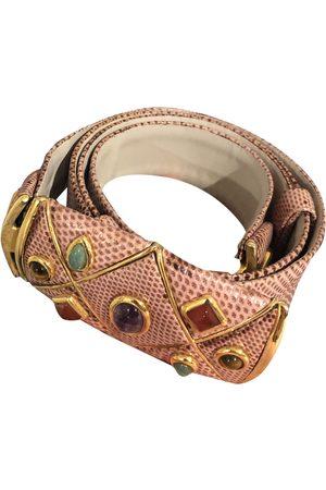 Judith Leiber Multicolour Leather Belts