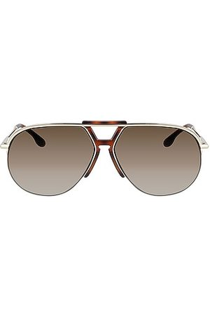 Victoria Beckham Women Aviators - Brow Aviator Sunglasses in
