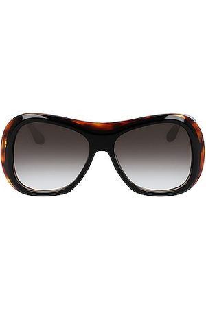 Victoria Beckham Large Butterfly Sunglasses in