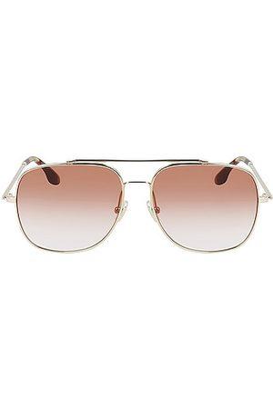 Victoria Beckham Revised Navigator Sunglasses in Pink