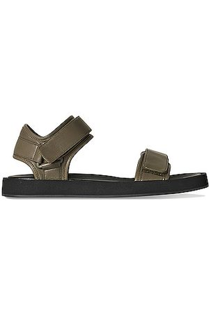 The Row Hook and Loop II Sandals in Green