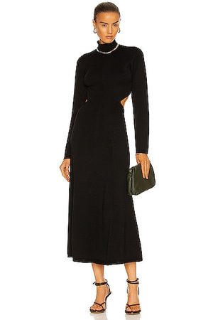AJE Anika Cut Out Knit Dress in