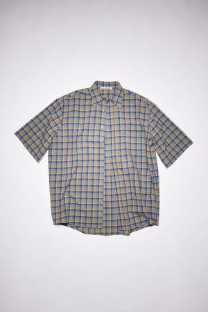 Acne Studios FN-MN-SHIR000453 /blue Oversized shirt