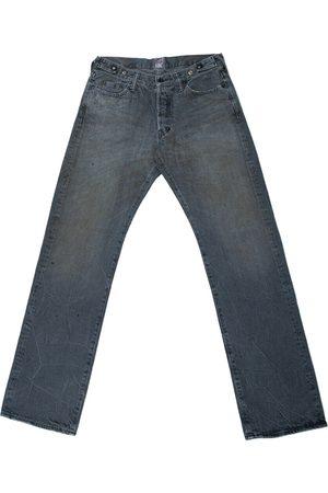 PRPS Men Jeans - Grey Cotton Jeans