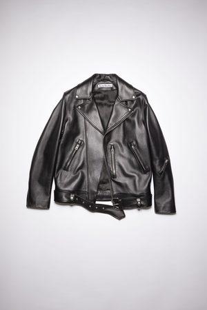 Acne Studios FN-MN-LEAT000114 Leather biker jacket