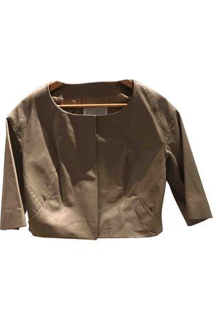Chloé Camel Leather Leather Jackets