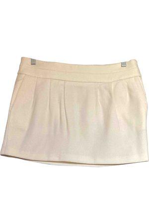 Mauro Grifoni Wool mini skirt