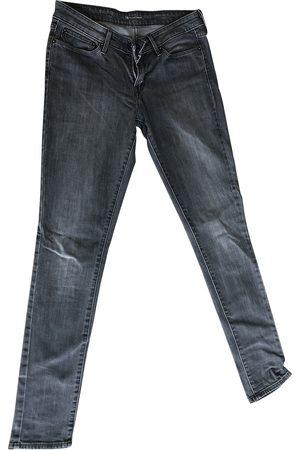 Levi's Grey Cotton - elasthane Jeans