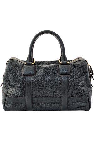 Loewe Leather bowling bag