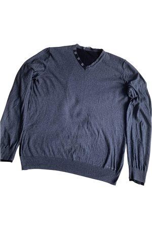 Calvin Klein Grey Cotton Knitwear & Sweatshirts