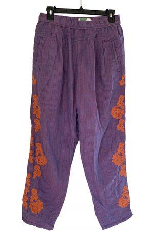Anthropologie Women Straight Leg Pants - Linen straight pants