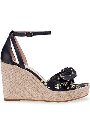 Kate Spade Women's Tianna Espadrille Wedge Sandals - Daisy Dot - Size 9.5