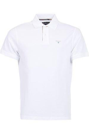 Barbour Men's Tartan-Trim Piqué Polo Shirt - - Size Small