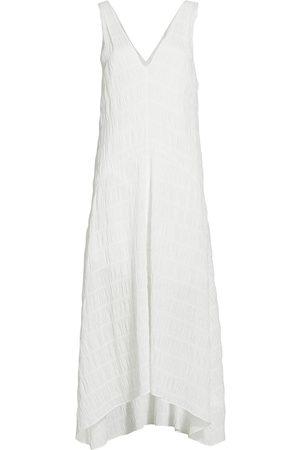 Frame Women Skirts & Dresses - Women's Savannah Plissé Cotton Dress - - Size XS
