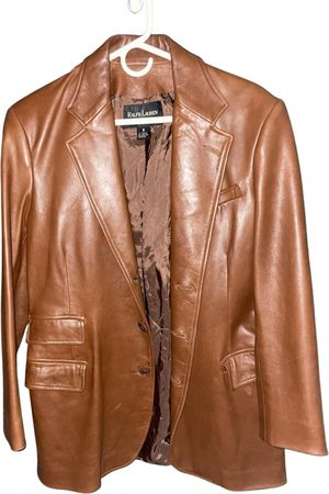 Ralph Lauren Camel Leather Jackets
