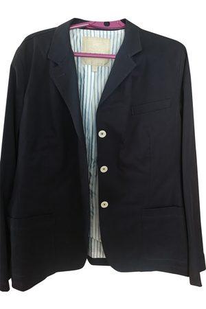 PEDRO DEL HIERRO Navy Cotton Jacket