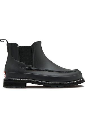 Hunter Men's Refined Mock-Toe Chelsea Boots - - Size 7