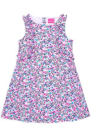 Lilly Pulitzer Kids Little Girl's & Girl's Amia Ditsy Floral Dress - Size 14