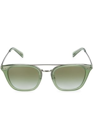 Oliver Peoples Women's X Frère 51MM La Square Sunglasses - Sage