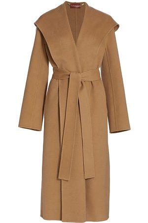 Altuzarra Women's Alfred Wool-Blend Trench Coat - Edge Wood - Size 4