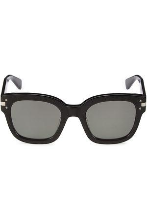 AMIRI Men's 52MM Classic Logo Sunglasses - Grey