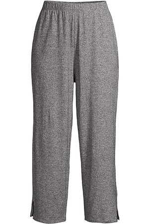 Eileen Fisher Women's Straight Cropped Pants - Ash - Size XXXL