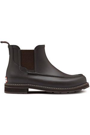 Hunter Men's Refined Mock-Toe Chelsea Boots - Nessy - Size 8