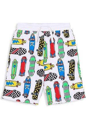 Stella McCartney Kids Boys Shorts - Little Boy's & Boy's Skateboards Sweatshorts - Size 8
