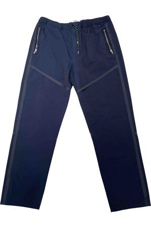 OAMC Navy Polyester Trousers