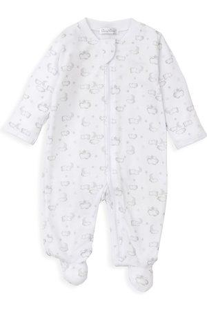 Kissy Kissy Pajamas - Baby's Twillight Twinkle Print Footie Pajamas - - Size 3 Months