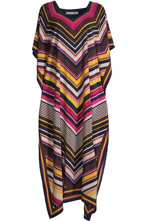 Trina Turk Women Beach Dresses - Women's Theodora Graphic-Print Caftan - Size XL